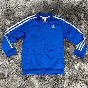 Adidas   Boy's Track Jacket   Blue & White